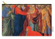 Raising Of Lazarus Fragment 1311 Carry-all Pouch