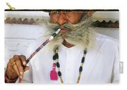 Rajasthani Elder Carry-all Pouch by Michele Burgess