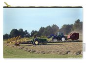 Raking And Baling Hay In Texas Carry-all Pouch