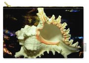 Rams Horn Seashell Carry-all Pouch