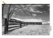 Ranch In Winter Carry-all Pouch