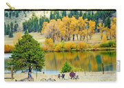 Ranch Pond In Autumn Carry-all Pouch