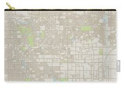 Rancho Cucamonga California Us City Street Map Carry-all Pouch