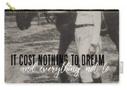 Random Moment Quote Carry-all Pouch