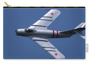 Randy Ball's Mig-17f Banking Left Carry-all Pouch