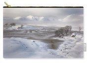 Rannoch Moor Winter Carry-all Pouch