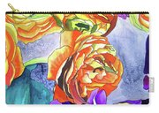 Ranunculus And Iris Carry-all Pouch