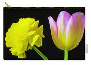 Ranunculus And Tulip Carry-all Pouch