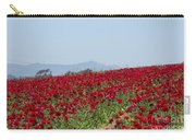 Ranunculus Red Carry-all Pouch