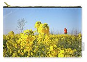 Rape Field With Photographer Carry-all Pouch
