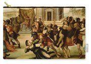 Rape Of The Sabines Carry-all Pouch