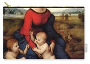 Raphael Madonna Of Belvedere  Madonna Del Prato  Carry-all Pouch