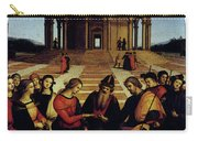 Raphael Marriage Of The Virgin Carry-all Pouch