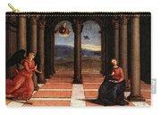 Raphael The Annunciation  Oddi Altar Predella  Carry-all Pouch