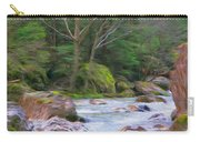 Rapids At The Rivers Bend Carry-all Pouch
