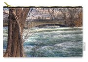 Rapids In Fall Carry-all Pouch