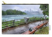 Rapids In The Rain Carry-all Pouch
