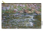 Rapids On The Petite Creuse At Fresselines, 1889 Carry-all Pouch