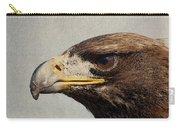 Raptor Wild Bird Of Prey Portrait Closeup Carry-all Pouch