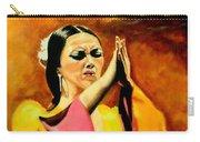 Raquel Heredia - Flamenco Dancer Sold Carry-all Pouch