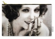 Raquel Torres, Vintage Actress Carry-all Pouch