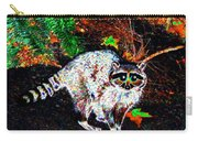Rascally Raccoon Carry-all Pouch by Will Borden