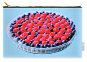 Raspberry And Blueberry Tart Carry-all Pouch