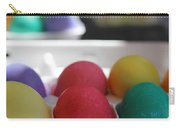 Raspberry And Hawaiian Surf Colored Easter Eggs Carry-all Pouch