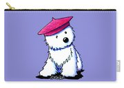 Raspberry Beret Westie Carry-all Pouch
