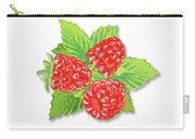 Raspberry Bunch  Carry-all Pouch