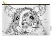 Rat Sketch Carry-all Pouch
