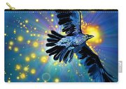 Raven First Bird Carry-all Pouch