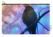 Raven In Spring Carry-all Pouch
