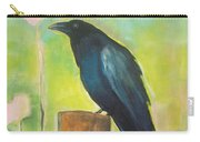 Raven In The Garden Carry-all Pouch
