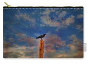 Raven Pole Carry-all Pouch