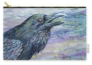 Raven Study 4 Carry-all Pouch