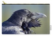 A Raven - Windblown Carry-all Pouch