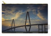 Ravenel Bridge Sunset Carry-all Pouch
