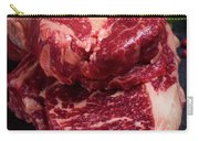 Raw Beef Steak Carry-all Pouch