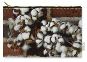 Raw Cotton Carry-all Pouch