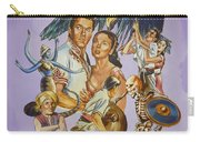 Ray Harryhausen Tribute Seventh Voyage Of Sinbad Carry-all Pouch