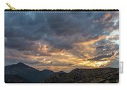 Rays Above Tecate Peak Carry-all Pouch