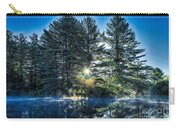 Rays Of Light On The Androscoggin River Carry-all Pouch