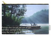Rays Of Light - Place To Ponder Carry-all Pouch