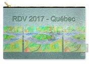 Rdv 2017 Quebec Mug Shot Carry-all Pouch