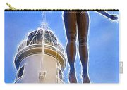 Reaching For Gold Carry-all Pouch by Vix Edwards