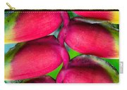 Parrot's Beak Heliconia Carry-all Pouch