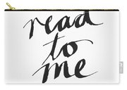 Read To Me- Art By Linda Woods Carry-all Pouch