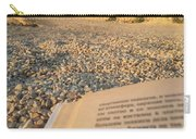 Reading A Book On Pebble Beach Carry-all Pouch