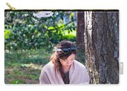 Reading Beneath The Cherry Blossoms Carry-all Pouch